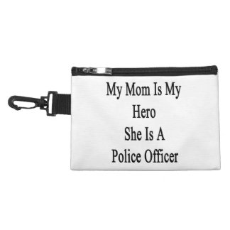 My Mom Is My Hero She Is A Police Officer Accessories Bags