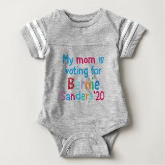 My Mom Is Voting For Bernie Sanders 2020 Baby Bodysuit