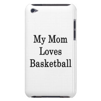 My Mom Loves Basketball iPod Touch Covers