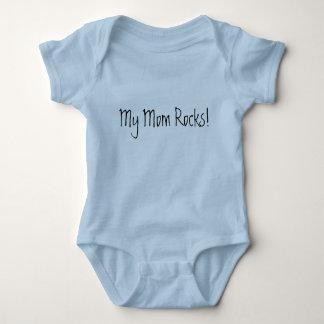 My Mom Rocks! Baby Bodysuit
