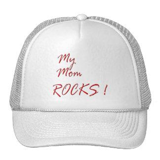 My Mom Rocks ! (red) Trucker Hat