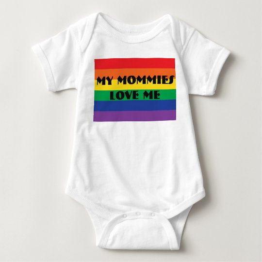 My Mommies Love Me Baby Bodysuit