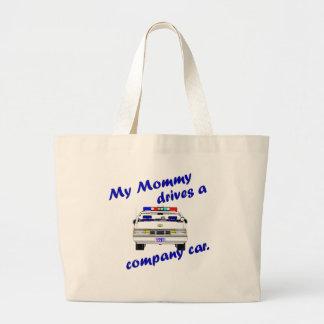 My Mommy Drives a Company Car Jumbo Tote Bag