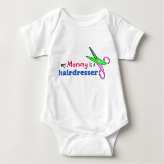 My Mommy is a Hairdresser Infant Clothing Baby Bodysuit
