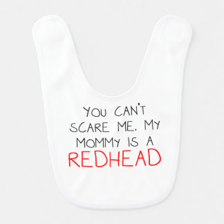 My Mommy Is A Redhead Bib