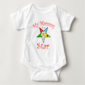 My Mommy is a Star Baby Bodysuit