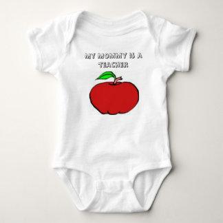 My Mommy Is A Teacher Baby Bodysuit