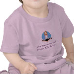 """""""My mommy is a Yoga Goddess"""" baby shirt"""