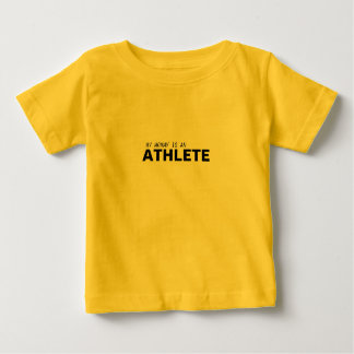 MY MOMMY IS AN ATHLETE/BREAST CANCER BABY T-Shirt