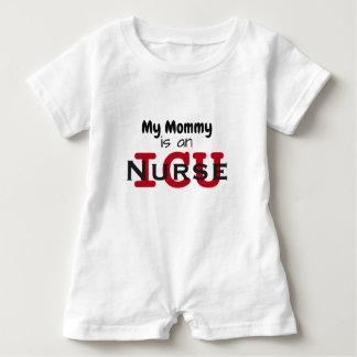 """My mommy is an ICU Nurse"" baby romper"