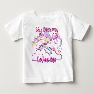 My Mommy Loves Me Unicorn Baby T-Shirt