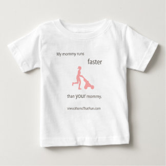 My Mommy Runs Faster Kids T-Shirt