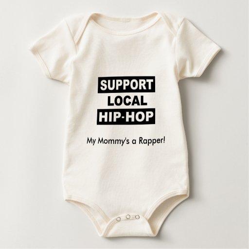 My Mommy's a Rapper! Baby Bodysuit