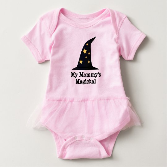 My Mommy's Magickal Tutu Body Suit Baby Bodysuit