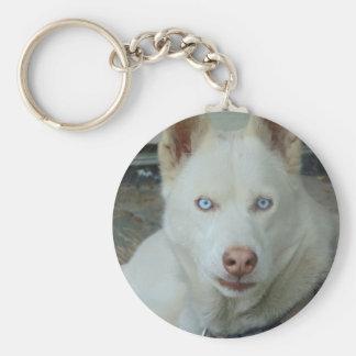 My Mona lisa eyes Basic Round Button Keychain