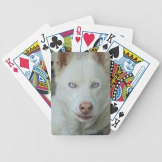 My Mona lisa eyes Bicycle Playing Cards