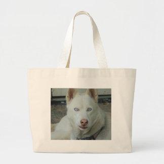 My Mona lisa eyes Large Tote Bag