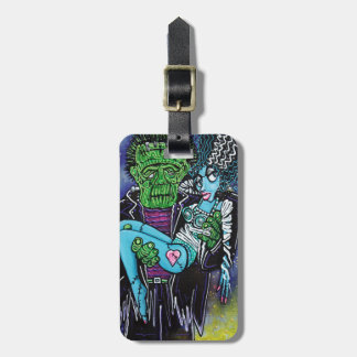 My Monster My Bride Travel Bag Tags
