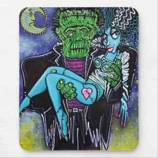 My Monster My Bride Mousepad
