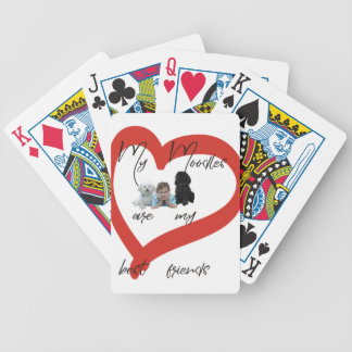 My Moodles are my Best Friends Bicycle Playing Cards