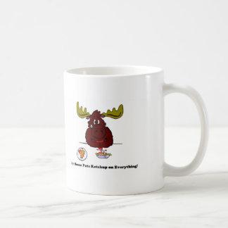 My Moose Classic White Coffee Mug