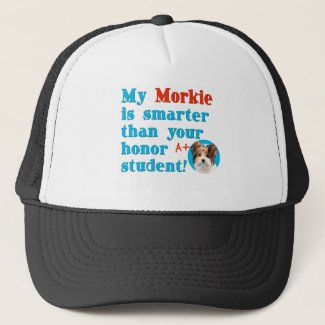 gifts for dog lovers a Morkie dog cap