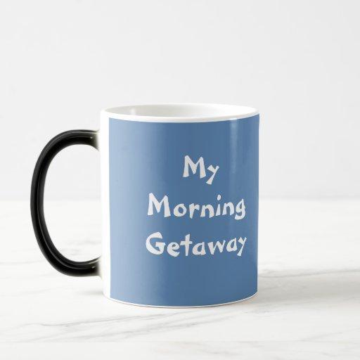 My Morning Getaway Mug