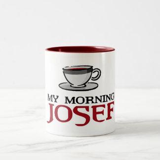 My Morning Josef Mug