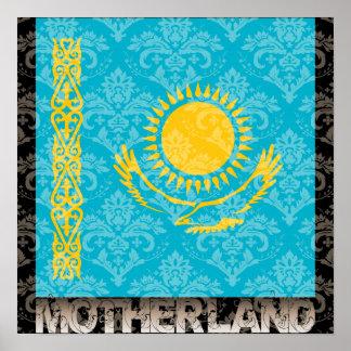 My Motherland Kazakhstan Poster