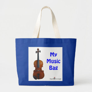 My Music Bag - Blue (Customize)