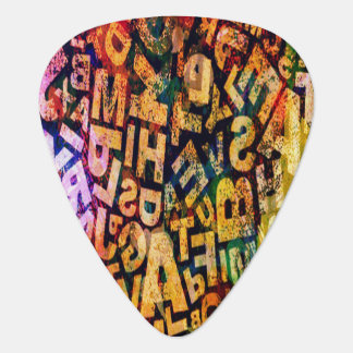 My Music My Passion Vintage Look Guitar Pick