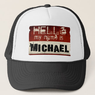 My Name is Michael Hat