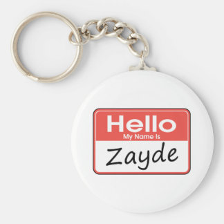 My Name is Zayde Keychain