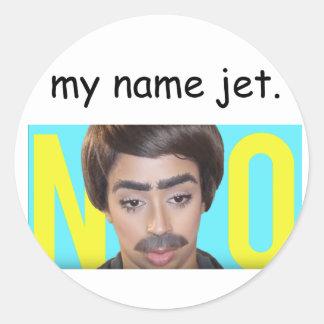 My Name Jet (Liza Koshy) Classic Round Sticker