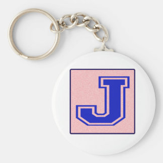 My name starts with J Keychains