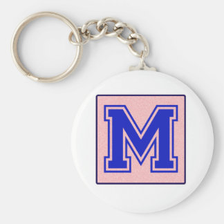 My name starts with M Keychains