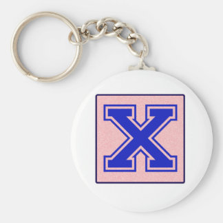 My name starts with X Key Chains