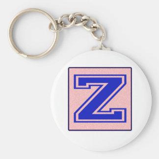 My name starts with Z Key Chain