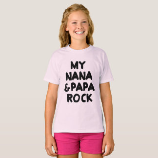 My Nana and Papa Rock T-Shirt
