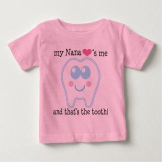 My Nana Love Me Funny Baby T-Shirt
