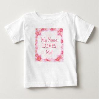 My Nana Loves Me Onsie Baby T-Shirt
