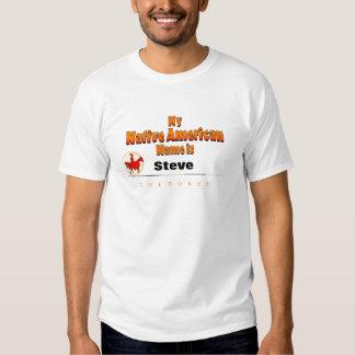 My Native American name is... Tshirts