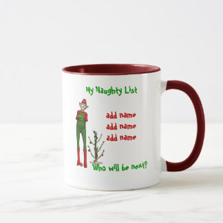 My Naughty List Mug