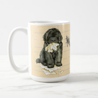 My Newfoundland Ate My Homework Coffee Mug