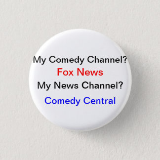 My News Source? 1 Inch Round Button