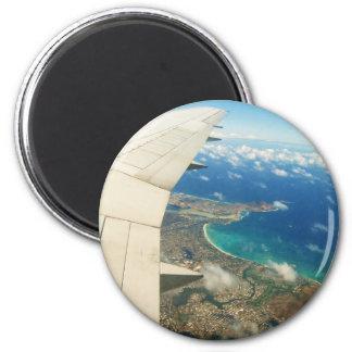 My next flight 2 inch round magnet