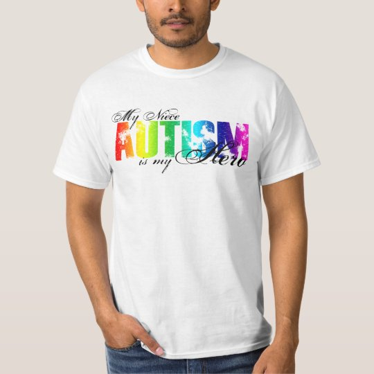 My Niece My Hero - Autism T-Shirt