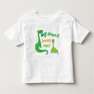 My Nonna Loves Me Dinosaur Toddler T-shirt
