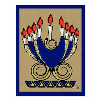 My 'Nora (Original Hanukkah Menorah Design) Postcard