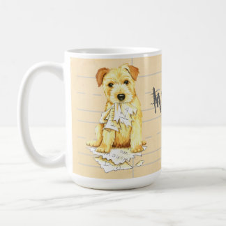 My Norfolk Terrier Ate My Homework Coffee Mug